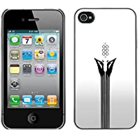 CASECO - iPhone 4 / 4S - Abstract Face White