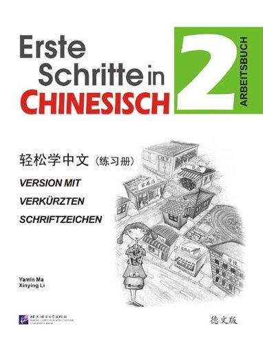 Erste Schritte in Chinesisch 2, Arbeitsbuch