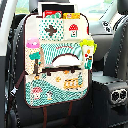 Lpfkkk Organizer Auto Protezione Sedile Bambini Hang Bag Seggiolino Posteriore Organizer Box Car Styling Baby Viaggio Prodotto Riposo Riordino Sedile Posteriore Accessori, Stile 3