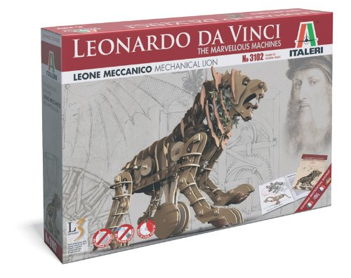 Italeri 3102 - Leonardo Da Vinci: Leone Meccanico - Mechanical Lion  Model Kit