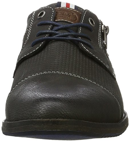 Bm Footwear 2711705, Derby homme Grau (Coal)