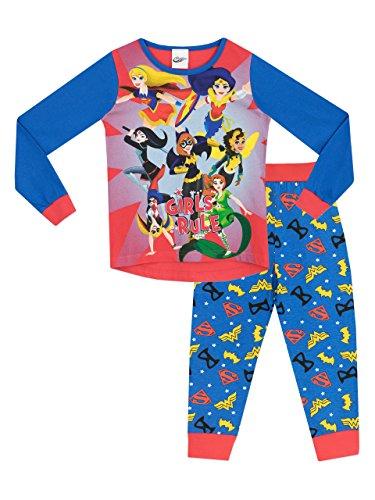 DC SuperHero Girls – Pijama para niñas – DC SuperHero
