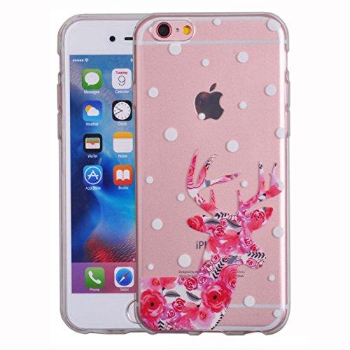 Voguecase® Pour Apple iPhone 5C, Ultra-minces TPU Silicone Shell Housse Coque Étui Case Cover (plume grise)+ Gratuit stylet l'écran aléatoire universelle fleur wapitis
