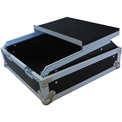 r Rackmount Flight Case mit Laptop-Schiebetür Ablage ()