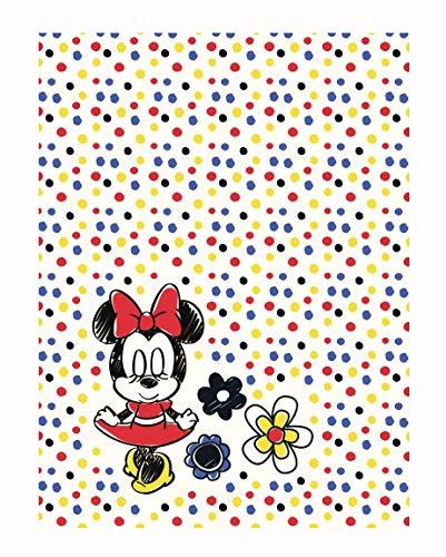 Minnie Mouse - Manta para Cochecito 75 x 100 cm