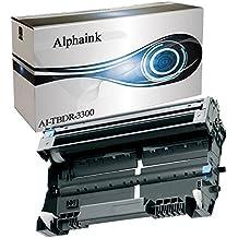 alphaink ai-dr3300Tambor para Brother DCP-8110DN DCP-8250DN HL-5440D hl-5450d HL-5450DN HL-5450DNT HL-5470DW hl-5480dw HL-6180DW HL-6180DWT MFC-8510DN MFC-8520DN MFC-8950DW MFC-8950DWT DR3300Rendimiento 30000copias al 5% de copertura.
