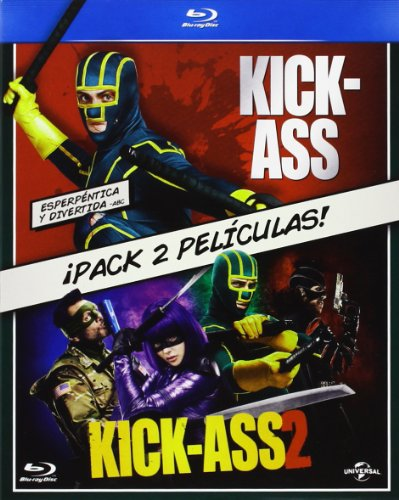 Pack: Kick-Ass 1 + Kick-Ass 2 [Blu-ray]