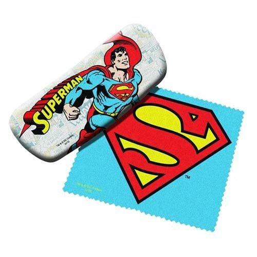 Superman Brillen- Etui und Reinigungsmittel