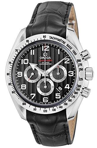 Omega Speedmaster amplio Flecha Cronógrafo Automático Negro Dial Mens Reloj 321.13.44.50.01.001