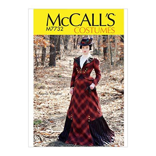 Pattern Mccall Kostüm - McCall 's Patterns Schnittmuster Kostüm Schnittmuster, Tissue, Mehrfarbig, 17x 0,5x 0,07cm