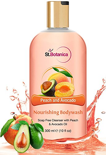 St.Botanica Peach and Avocado Nourishing Luxury Body Wash, 300ml