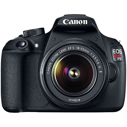 Canon Eos Rebel T5 Ef-s 18mp 18-55mm Is Ii Digital Slr Kit