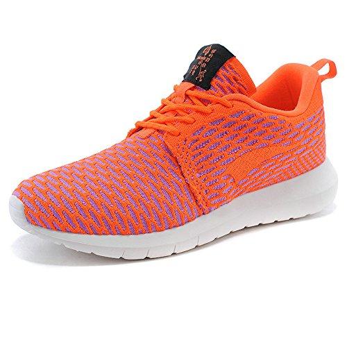 Onemix all'aperto Air Uomo Donna Scarpe da Ginnastica Corsa Sportive Running Sneakers Fitness Interior Casual all'Aperto Arancia