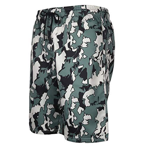 Cooljun Frauen Badeanzüge Tank Top Badeanzüge Herren Sommer Badehose 3D Print Grafik Casual Athletic Beach Short Pants