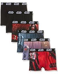 Star Wars Jungen Badehose Boxer, 6er Pack,