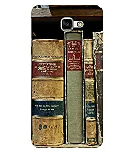 For Samsung Galaxy A9 (2016) library ( library, book, old book, beautiful book ) Printed Designer Back Case Cover By CHAPLOOS