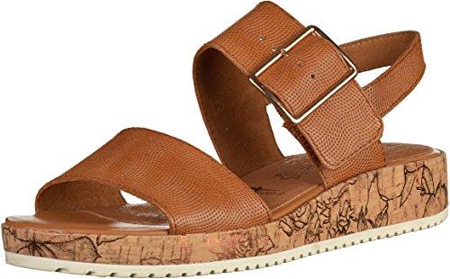 Tamaris Damen sandalo 1-28204-440 dado braun