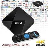 Android 7.1 IPTV Fernsehkasten Amlogic S912 Octa entschlüsselt freies IPTV Kanal-Abschrift 2GB / 16GB 64bit Unterstützung LAN WiFi 2.4GHz HDMI 2.0 SPDIF H.265 4K 3D Video