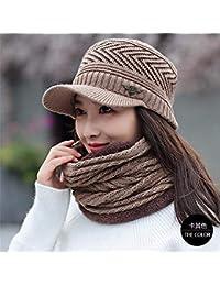 5e92023f3 HUAIX Home Sombrero de la línea de calefacción de Espesamiento de Invierno  para Mujer