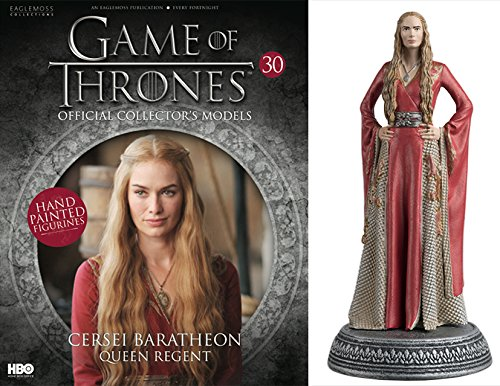 HBO - Figura de Resina Juego de Tronos. Game of Thrones Collection Nº 30 CERSEI LANNISTER