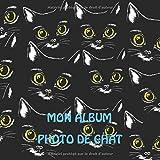 Mon Album Photo de Chat: Album Photo Mignon Pour Chat, Il Est Créé Pour 109 Photos (110 Pages, 8.25 x 8.25)