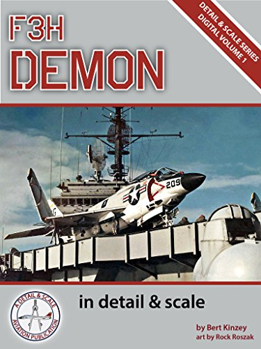 F3H Demon in Detail & Scale (Detail & Scale Series Book 1) (English Edition) por Bert Kinzey