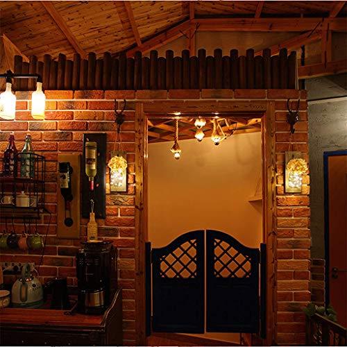 72851fcd843c LED Innenbeleuchtung Leuchten für Kinder Nachtlichter Schlummerleuchten  Home Glas Mason Flasche Late