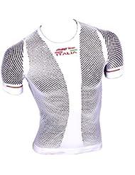 Red de manga corta Undershirt Proline blanco