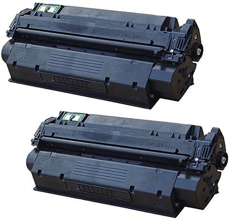 2 INK INSPIRATION® Compatibles Toner Laser pour HP Laserjet 1000, 1005, 1200, 1220, 1300, 3080, 3300, 3310, 3320, 3330, 3380, Canon LBP-1210, LBP-558   Remplacement pour HP C7115X & Q2613X & Canon EP-25   3500 Pages