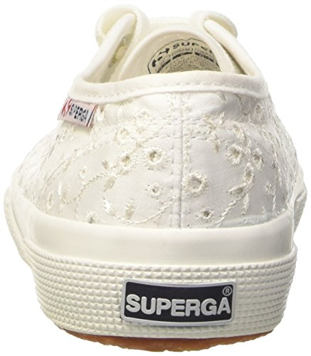 Superga 2750 Sangallosatinw, Sneakers basses femme Bianco (Weiß)