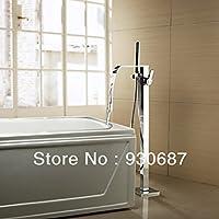galvanoplástica Retro Grifo de alta calidad cromo pulido superficie latón ducha grifo setzen grifo con ducha