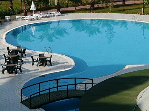 Schwimmbeckenfarbe Lafazit 5 L Liter Blau Schwimmbadfarbe Beschichtung Poolfarbe Poolbeschichtung Anstrich Fischbecken Fischteich Farbe