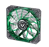 BitFenix Spectre Pro LED Green 140mm Computer case Fan - Computer Cooling Components (Computer case, Fan, 14 cm, 1200 RPM, 22.8 dB, 86.73 cfm)