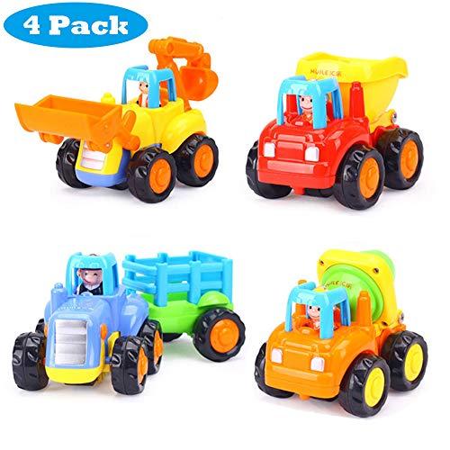 HUANDATONG Spielzeug für Jungen im Alter von 2-9 Jahren, zurück Autos für Jungen Geburtstagsgeschenk Spielzeug für Kinder im Alter von 2-9 Jahren für Geschenk für Jungen im Alter von 2-9 Jahren (Jungen Spielzeug Alter 2)