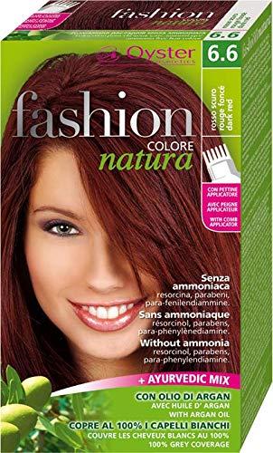 Fashion natura colore capelli senza ammoniaca rosso scuro 6.6