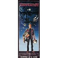 Mauvais Genres THE LAST STARFIGHTER Door Panel Movie Poster 23x63 in. - 1984 - Nick Castle