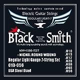 Black Smith 10-56 Jeu de 7 Cordes pour Guitare électrique