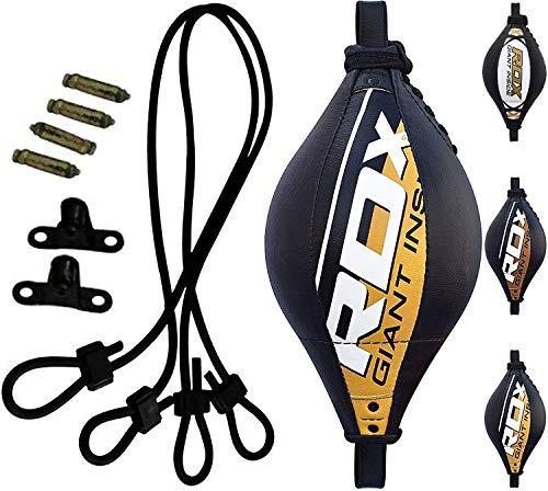 RDX MMA Peras Boxeo Pera Velocidad Doble Bola End Rapida Speed Bag Gimnasio Entrenamiento...