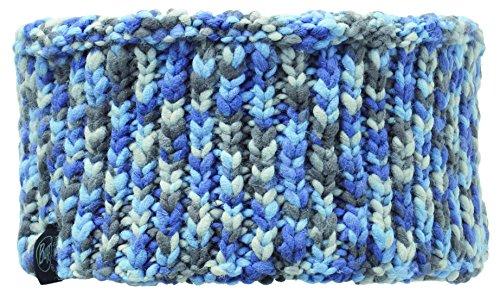 Buff foulard multifonction pour adulte polar fleece bandeau tricoté taille unique Multicolore - Kama Blue