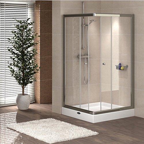demsun D20ausgestattet Versiegelungsmittel Badezimmer, Dusche, Küche Silikon Dichtstoff Transparent 310ml (1x Stück) - 2