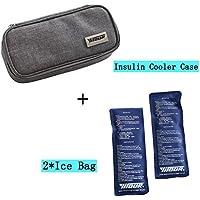 Risingmed Tragbare Insulin Kühltasche, Insulin-Kühler für Medizin-Kühltasche mit + 2Kühlakkus, medizinische Kühltasche... preisvergleich bei billige-tabletten.eu