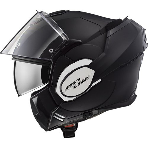 LS2 Casco FF399 Valiant color negro mate