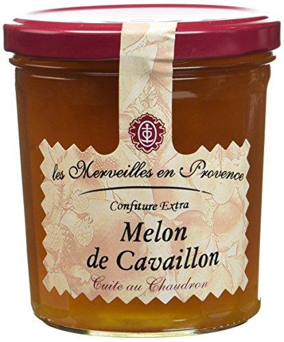 Les Merveilles en Provence Confiture Extra Melon de Cavaillon - Lot de 3