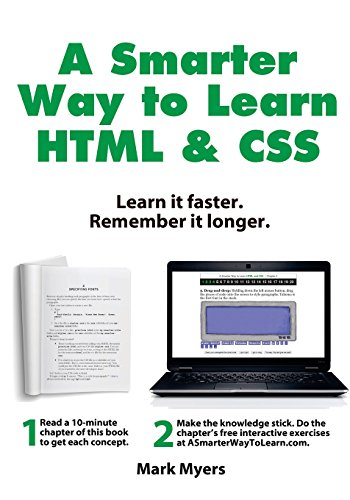 A Smarter Way to Learn HTML & CSS: Learn it faster. Remember it longer.: Volume 2
