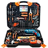 Werkzeugkasten Handbohrmaschine Hause multifunktions Schlagbohrmaschine Licht Elektrische Hammer Pistole Bohrer Elektrische Elektrowerkzeug Kit