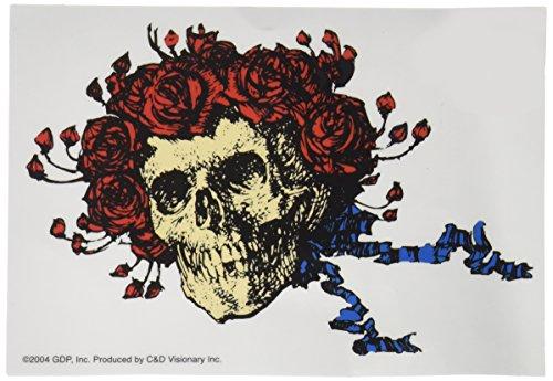 GRATEFUL DEAD Skull & Roses Clear, Officially Licensed Original GDP Inc., Artwork, 5