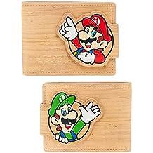 Nintendo Geldbörse Mario/Luigi Woodgrain