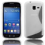 Cadorabo Coque de Protection en Silicone TPU Souple pour Samsung Galaxy Trend Lite