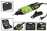 Vetrineinrete® Mini trapano tipo dremel 170 watt elettrico con 40 accessori per levigare forare tagliare in valigetta fai da te B16