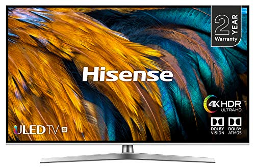 Hisense H55U7BUK 55-Inch 4K UHD HDR Smart ULED TV with Freeview Play (2019)